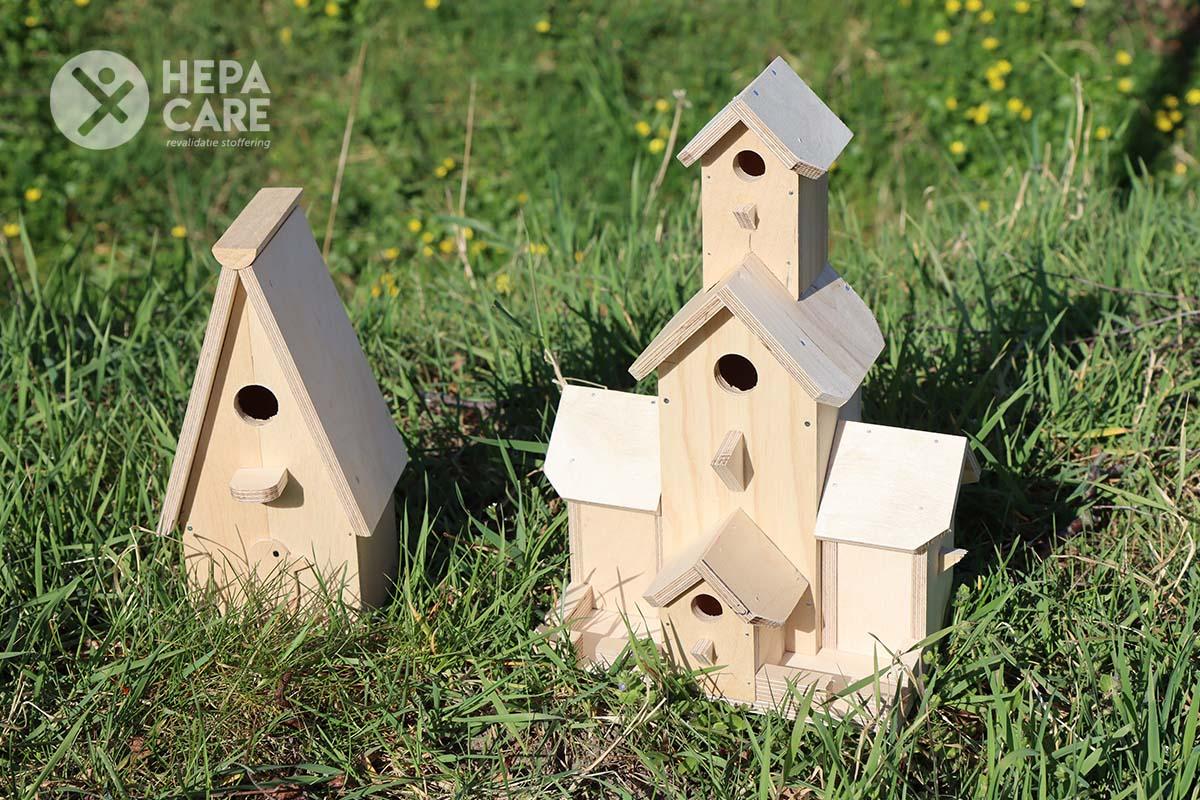 Hepa Care Revalidatie Stoffering - Vogelhuisjes